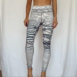 nike gray leggings !